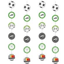 Fotbal zavěsná dekorace 4 ks 1,3 m