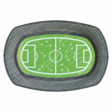 Fotbal papírové tácky 6 ks 24 cm x 16 cm