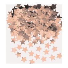 Konfety hvězdy růžovo-zlaté 14 g