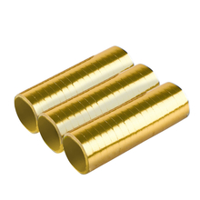 Serpentýny zlaté 3 ks 0,7 cm x 400 cm