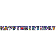 Lego Movie 2 narozeniny nápis