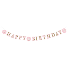 Princess narozeniny nápis 170 cm x 15 cm