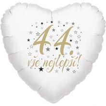 44. narozeniny balónek srdce