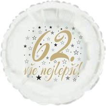 62. narozeniny balónek kruh