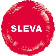 Balónek fóliový červený SLEVA