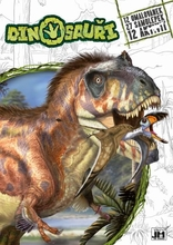 Omalovánky Dinosauři A4