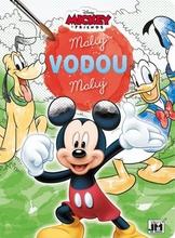 Omalovánky maluj vodou Mickey Mouse