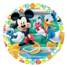 Jedlý papír Mickey Mouse 21cm