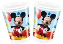 Mickey Mouse kelímky 8ks 200ml