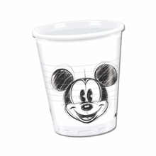 Mickey Mouse kelímky 25ks 200ml
