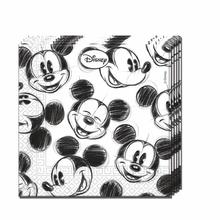 Mickey Mouse ubrousky 25ks 2-vrstvé 33cm x 33cm