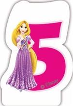 Princess svíčka na dort číslo 5