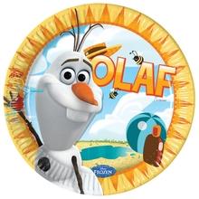 Olaf sněhulák party talíře 8ks 23cm