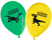 Hodný dinosaurus balónky 8ks 28cm