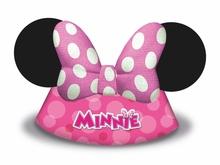 Minnie čepička 6ks