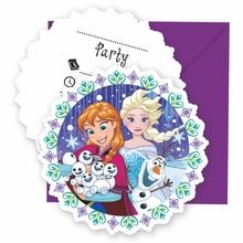 Frozen pozvánky na party 6ks
