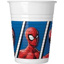 Spiderman kelímky 8 ks 200 ml