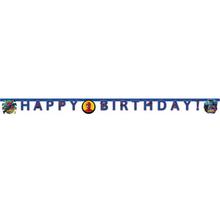 Spideman narozeniny nápis 2 m