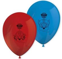 Tlapková patrola balónky 8 ks 28 cm