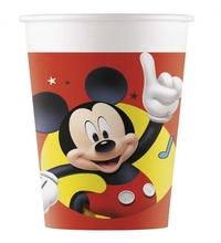 Mickey Mouse kelímky papírové 8 ks 200 ml