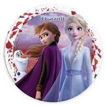 Frozen talíře papírové 8 ks 23 cm