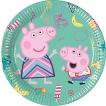 Prasátko Peppa talíře 8 ks 20 ks