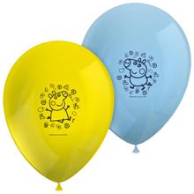 Prasátko Peppa balónky 8 ks 28 cm