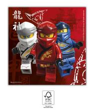 Lego Ninjago ubrousky 20 ks 33 cm x 33 cm