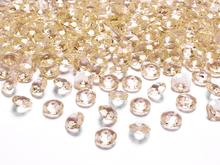 Diamanty zlaté 1,2cm 100ks