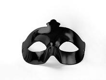 Škraboška černá