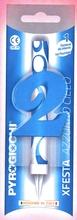 Dortová fontána číslo 2 modrá