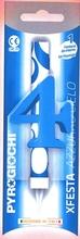 Dortová fontána číslo 4 modrá