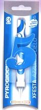 Dortová fontána číslo 5 modrá