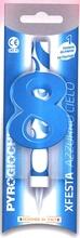 Dortová fontána číslo 8 modrá