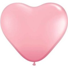 Balónky srdce růžové 46cm