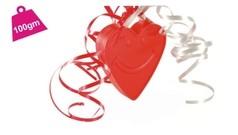 Srdce - závaží na balonky 10 gram