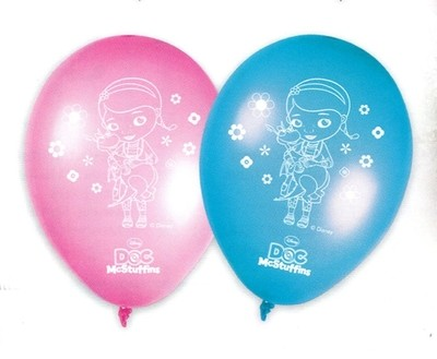Dokrorka Plyšáková balónky 8ks 28cm