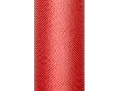Tyl červený 0,3 x 9m