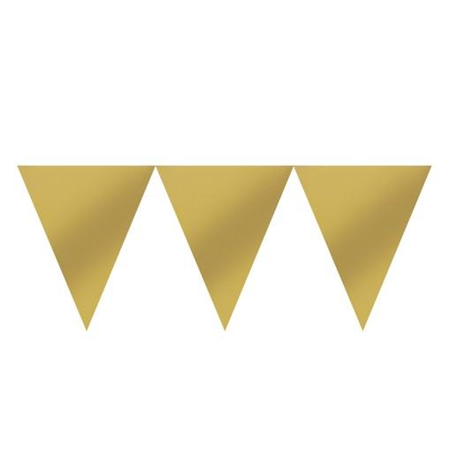 Vlajka zlatá 450 cm