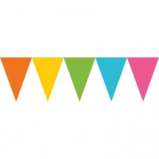 Vlajka barevna 450cm