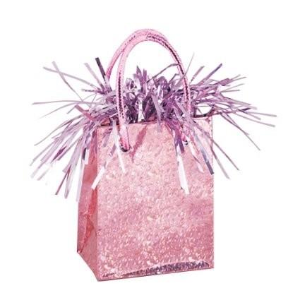 Závaží na balónky - PASTEL PINK PRISM - 49012