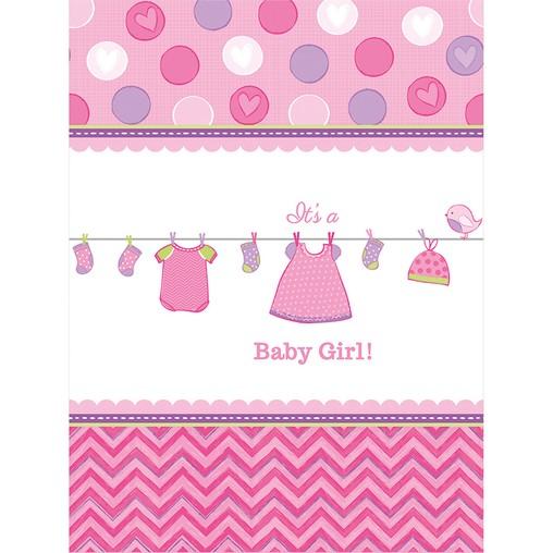 Baby Shower ubrus 137 cm x 243 cm