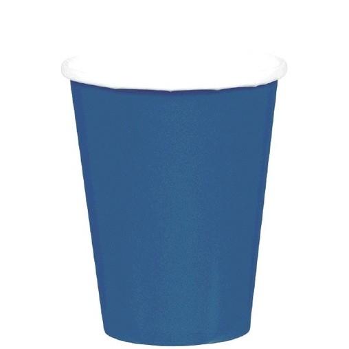 Kelímky papírové Navy Blue 8ks 266ml