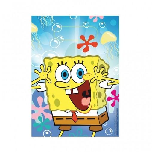 SpongeBob taška 6ks 16cm x 23cm