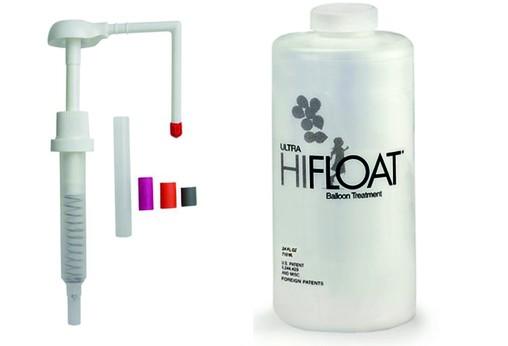 HI-FLOAT 710ml + dávkovač - prodlužuje létání - není hélium
