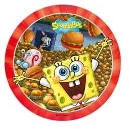 Jedlý papír SpongeBob 21cm