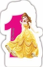 Princess svíčka na dort číslo 1
