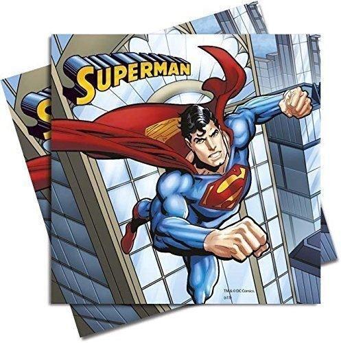 Superman ubrousky 20ks, 2-vrstvé, 33cm x 33cm