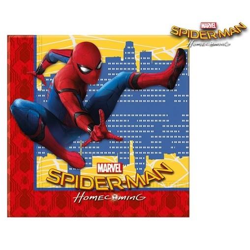 Spiderman ubrousky 20ks 2-vrstvé 33cm x 33cm